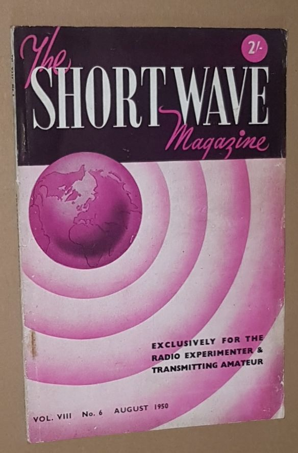 Image for The Short Wave Magazine, Vol.VIII no.6 [85], August 1950
