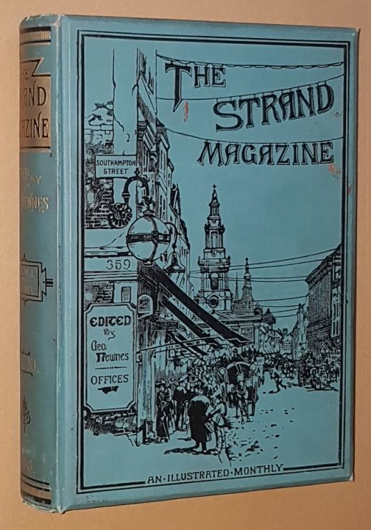 Image for The Strand Magazine: an Illustrated Monthly. Vol.XI, January to June 1896