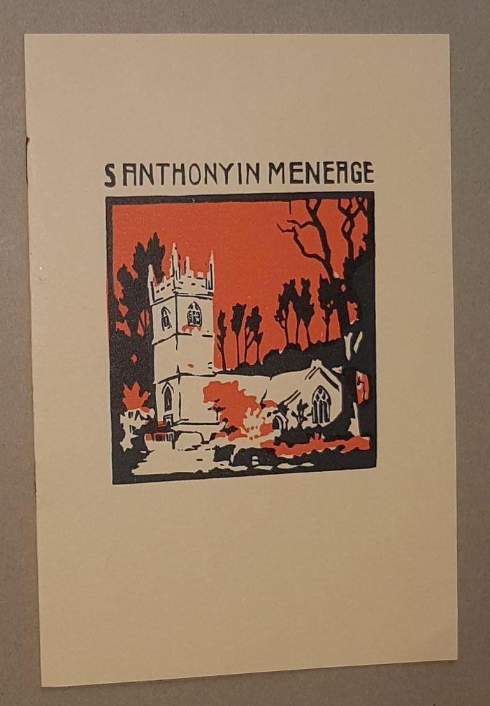 Image for St Anthony in Meneage: the story of the parish church