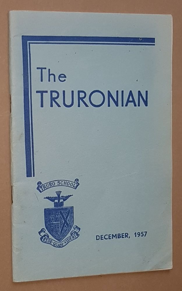Image for The Truronian Vol.XUV No.193, December 1957