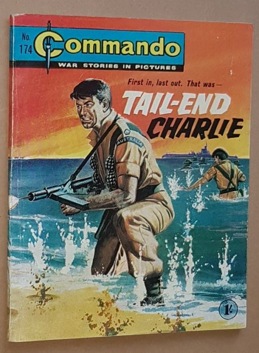 Image for Commando 174: Tail-end Charlie