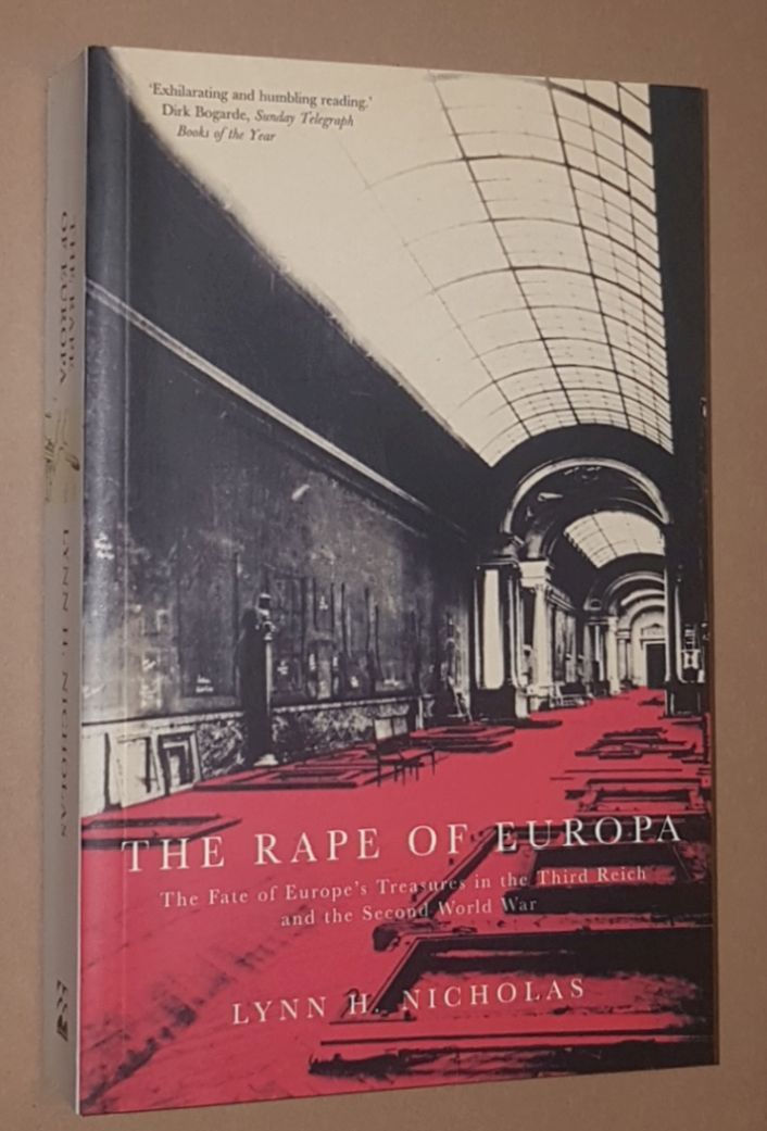 Image for The Rape of Europa: the fate of Europe's treasures in the Third Reich and the Second World War