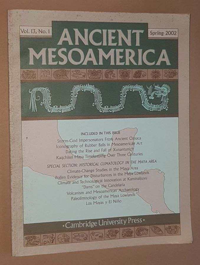 Image for Ancient Mesoamerica Vol.13, no.1, Spring 2002
