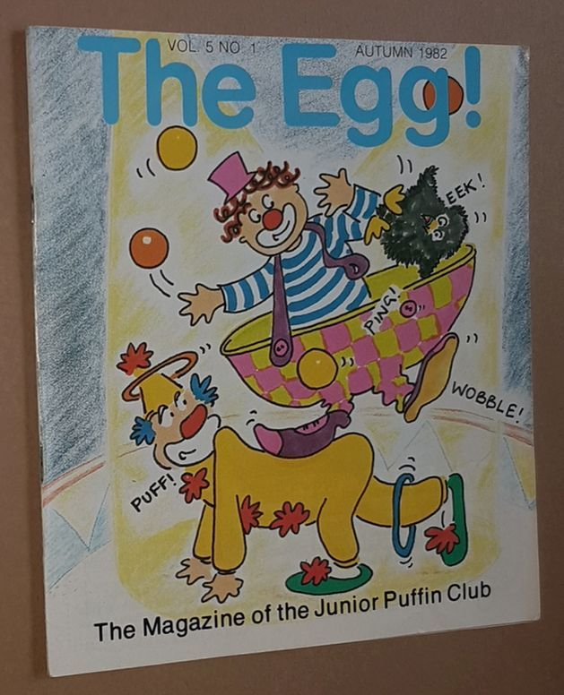 Image for The Egg Vol.5 no.1 Autumn 1982: the Magazine of the Junior Puffin Club