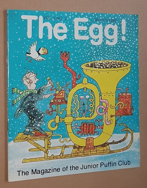 Image for The Egg Vol.5 no.2 Winter 1982: the Magazine of the Junior Puffin Club