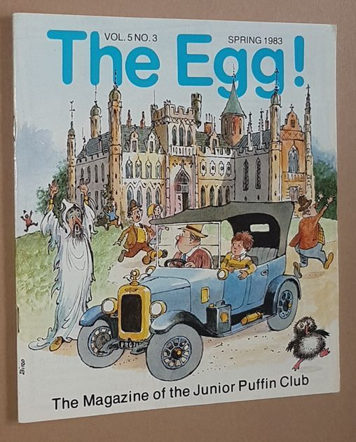 Image for The Egg Vol.5 no.3 Spring 1983: the Magazine of the Junior Puffin Club