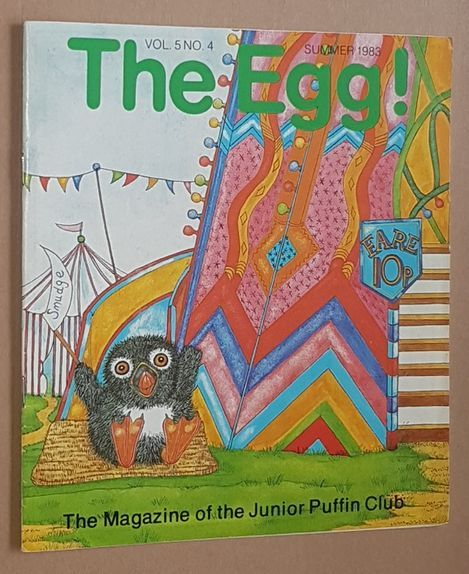 Image for The Egg Vol.5 no.4 Summer 1983: the Magazine of the Junior Puffin Club