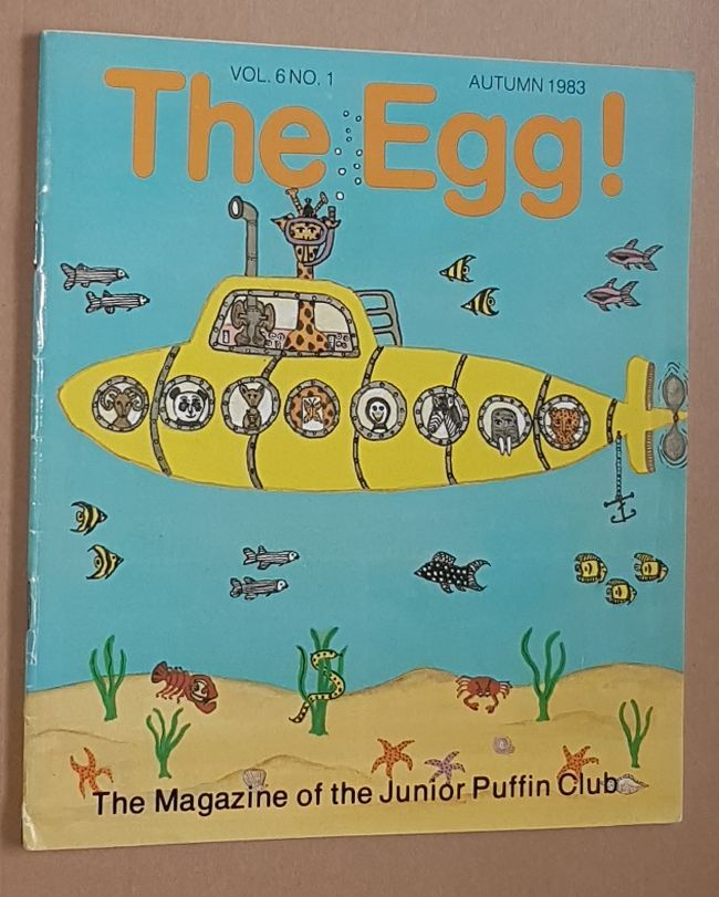 Image for The Egg Vol.6 no.1 Autumn 1983: the Magazine of the Junior Puffin Club