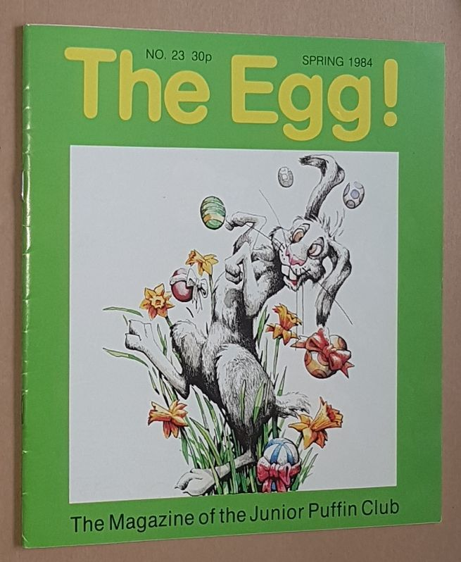 Image for The Egg No.23 Spring 1984: the Magazine of the Junior Puffin Club