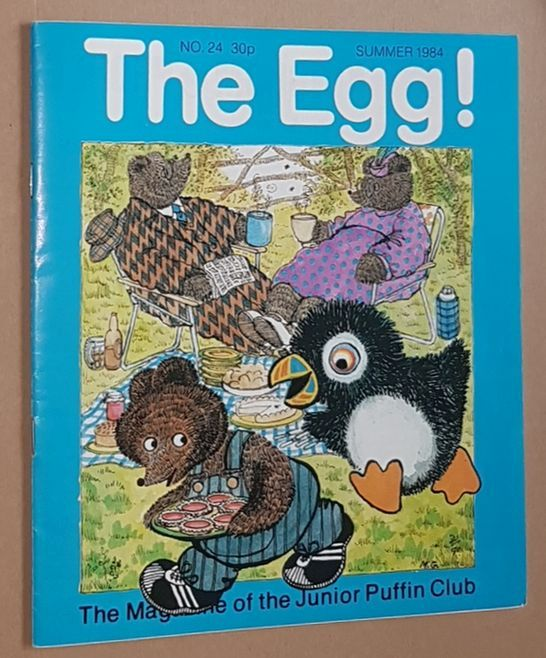 Image for The Egg No.24 Summer 1984: the Magazine of the Junior Puffin Club