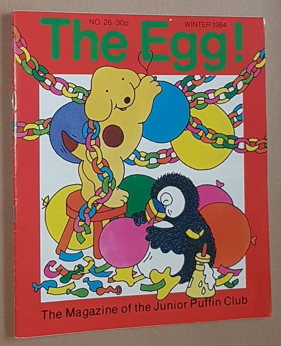 Image for The Egg No.26 Winter 1984: the Magazine of the Junior Puffin Club