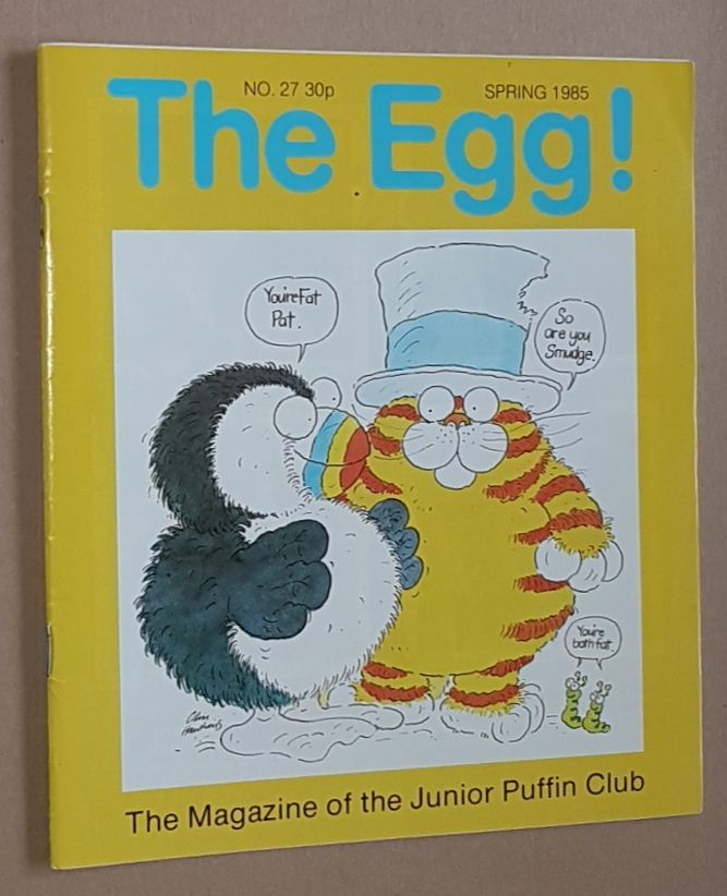 Image for The Egg No.27 Spring 1985: the Magazine of the Junior Puffin Club