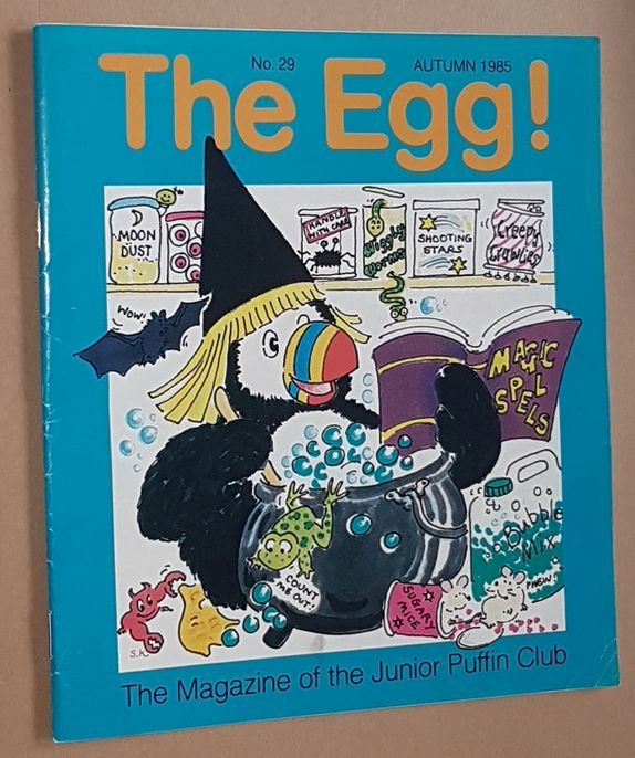 Image for The Egg No.29 Summer 1985: the Magazine of the Junior Puffin Club