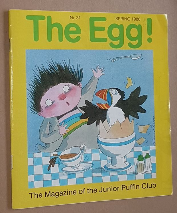 Image for The Egg No.31 Spring 1986: the Magazine of the Junior Puffin Club