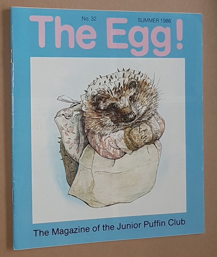 Image for The Egg No.32 Summer 1986: the Magazine of the Junior Puffin Club