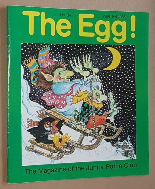Image for The Egg No.34 Winter 1986: the Magazine of the Junior Puffin Club