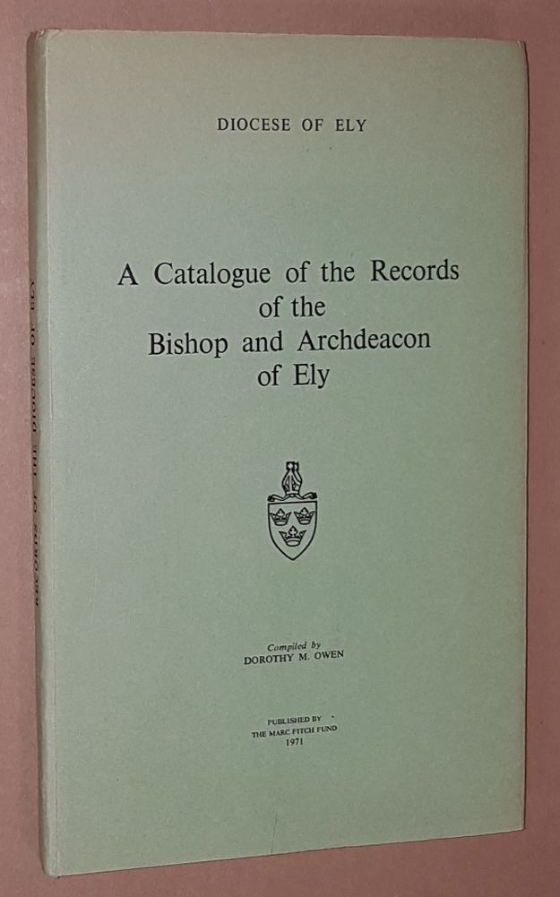 Image for Ely Records: A Handlist of the Records of the Bishop and Archdeacon of Ely