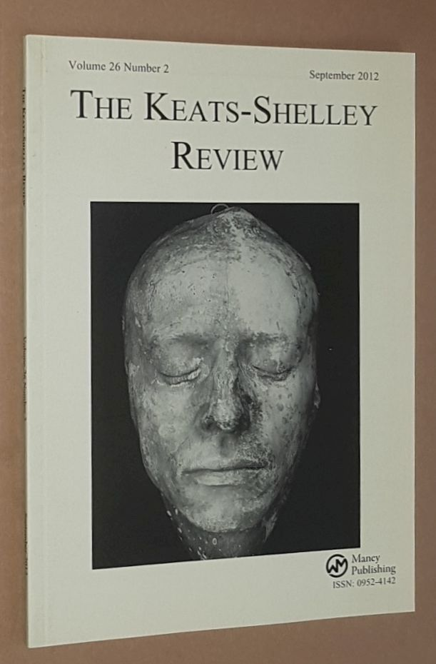 Image for The Keats-Shelley Review. Vol.26 No.2, September 2012