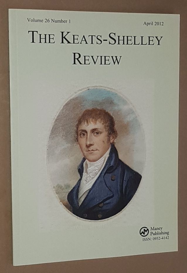 Image for The Keats-Shelley Review. Vol.26 No.1, April 2012