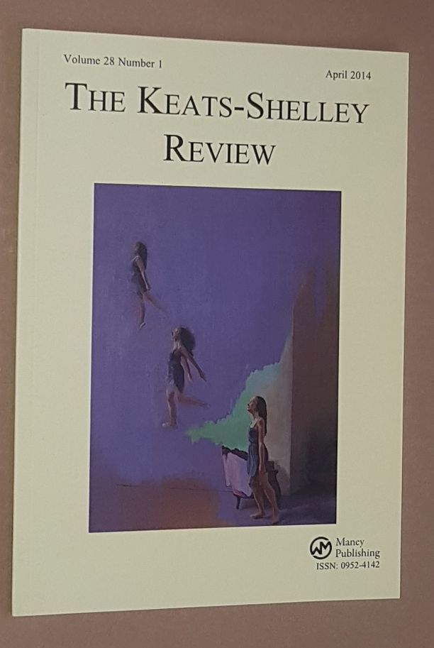 Image for The Keats-Shelley Review. Vol.28 No.1, April 2014