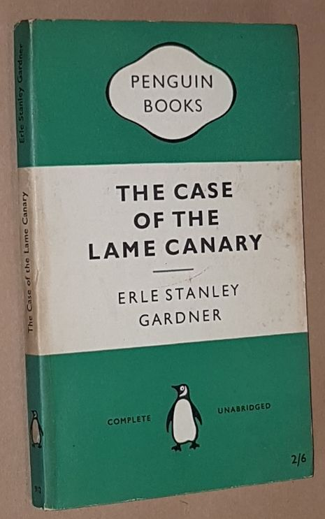 Image for The Case of the Lame Canary