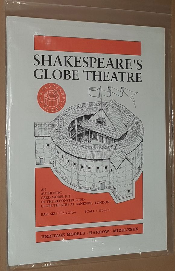 Image for Shakespeare's Globe Theatre: an authentic card model kit of the reconstructed Globe Theatre at Bankside, London