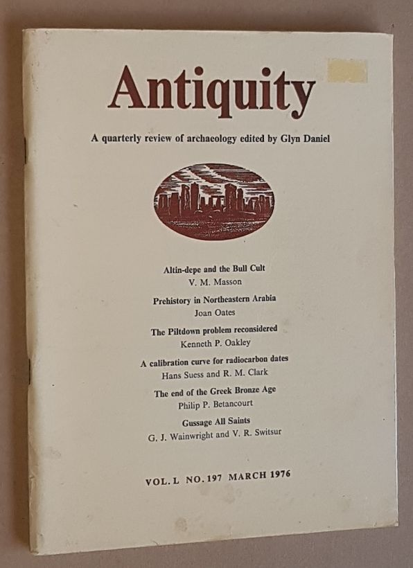 Image for Antiquity Vol.L no.197, March 1976