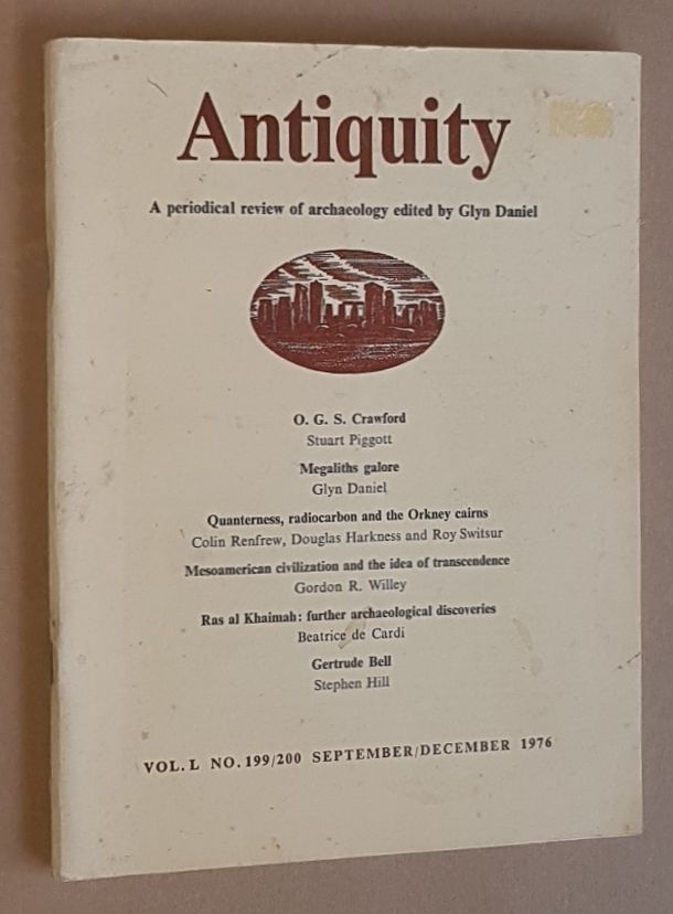 Image for Antiquity Vol.L no.199/200, September/December 1976