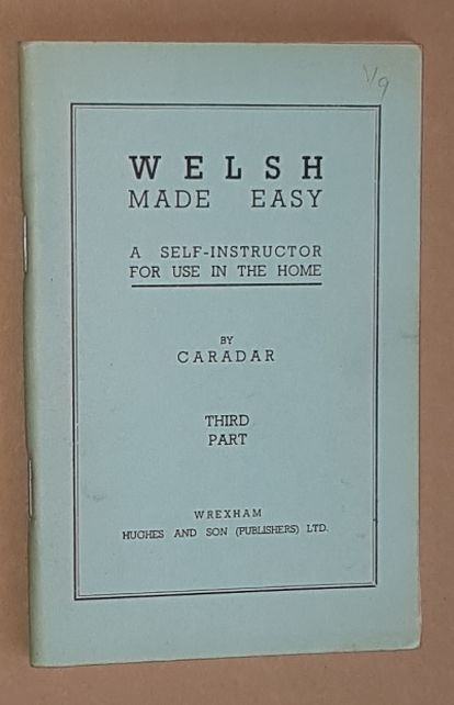 Image for Welsh Made Easy: Third Part (A self-instructor for use in the home)