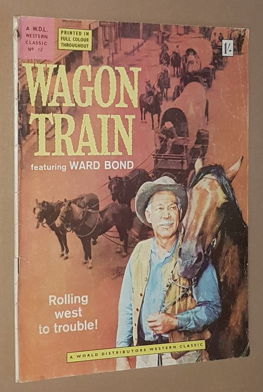 Image for Wagon Train (A World Distributors Western Classic No.12)
