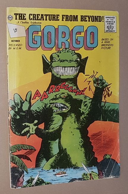 Image for Gorgo Volume 1 Number 9, October 1962