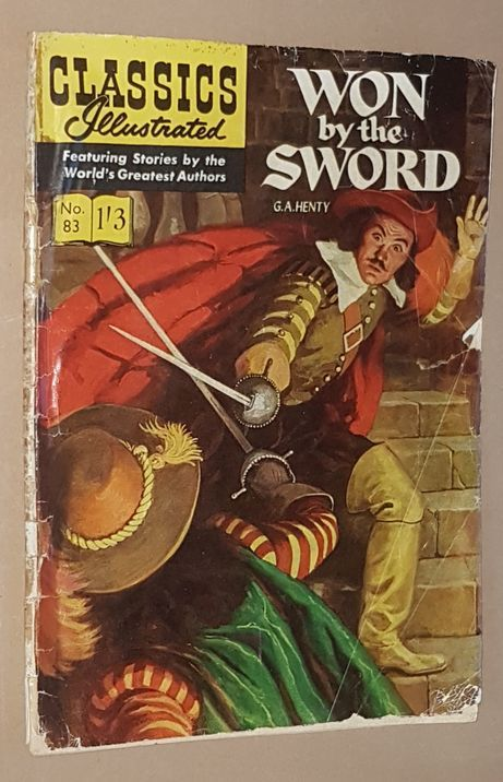 Image for Won by the Sword: Classics Illustrated No.83