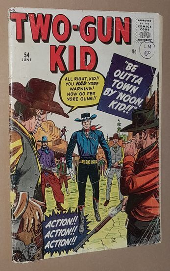 Image for Two-Gun Kid 54