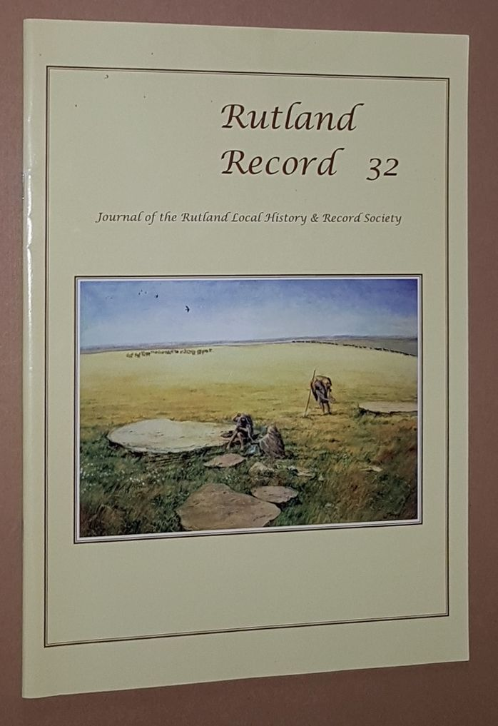 Image for Rutland Record 32: Journal of the Rutland Local History & Record Society