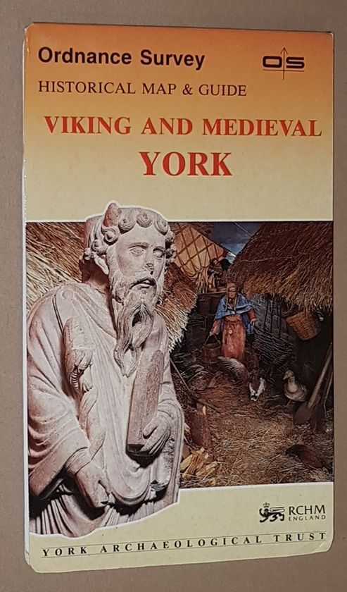 Image for Viking and Medieval York: Historical Map & Guide