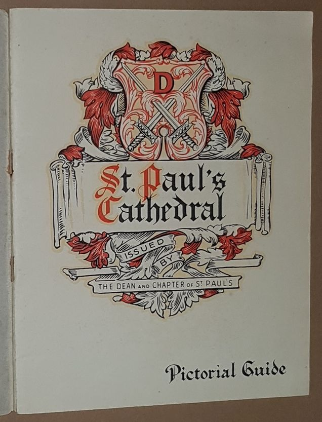 Image for St Paul's Cathedral: a pictorial guide