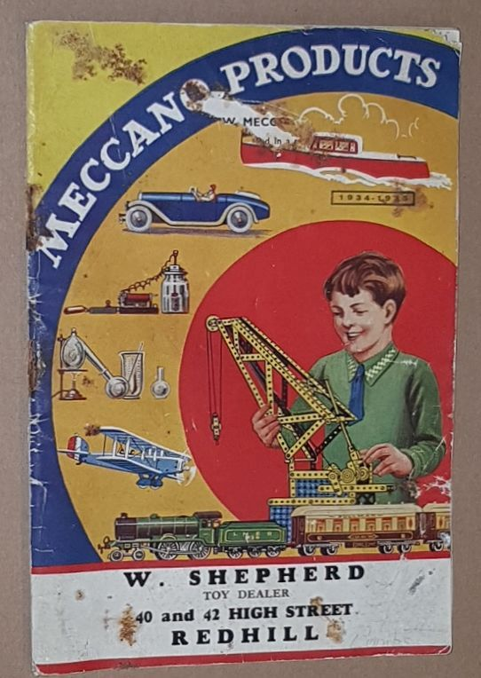 Image for Meccano Products Catalogue 1934-1935