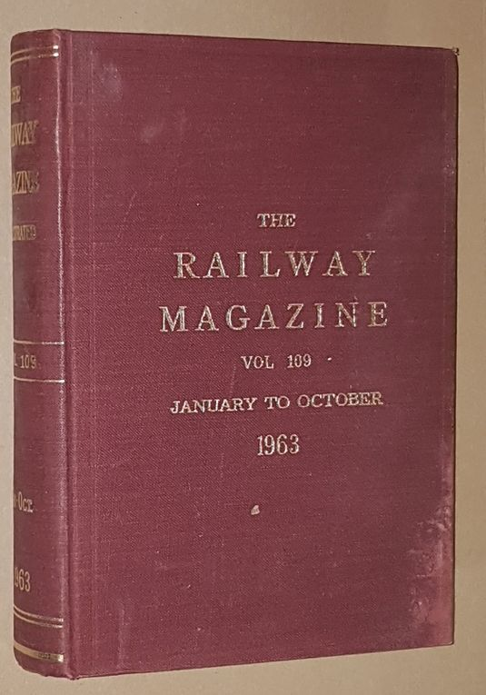 Image for The Railway Magazine Vol.109, January to October 1963
