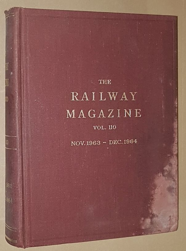 Image for The Railway Magazine Vol.110, November 1963 - December 1964