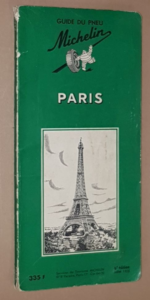Image for Paris: Guide du Pneu Michelin. 6e édition, Juillet 1955