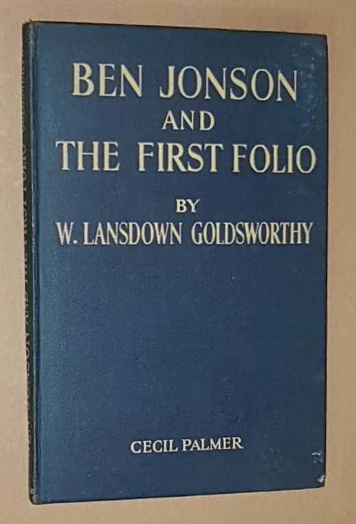 Image for Ben Jonson and the First Folio