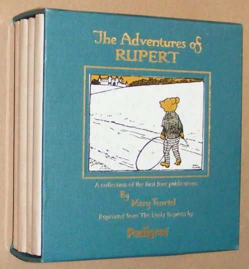 Image for The Adventures of Rupert. A collection of the first four publications by Mary Tourtel [Box set in slipcase]