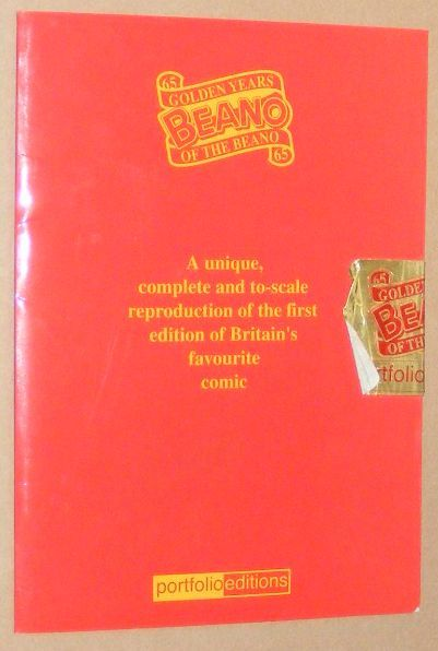 Image for 65 Golden Years of the Beano: a unique, complete and to-scale reproduction of the first edition of Britain's favourite comic