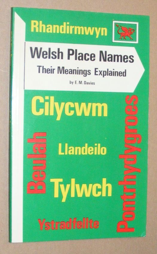 Image for Welsh Place Names: their meaning explained