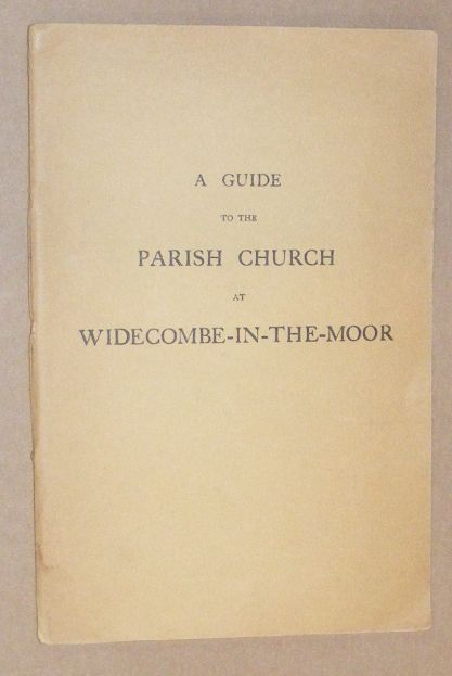 Image for A Guide to the Parish Church at Widecombe-in-the-Moor