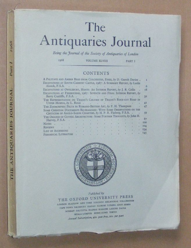 Image for The Antiquaries Journal 1968, Vol. XLVIII Part I
