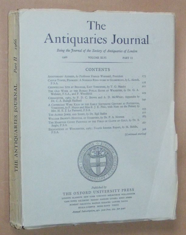 Image for The Antiquaries Journal 1966, Vol. XLVI Part II