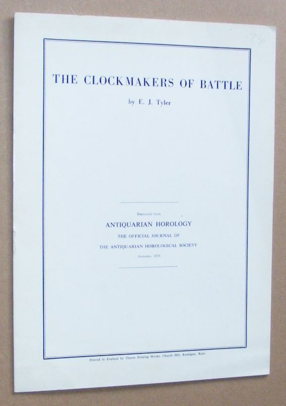 Image for The Clockmakers of Battle