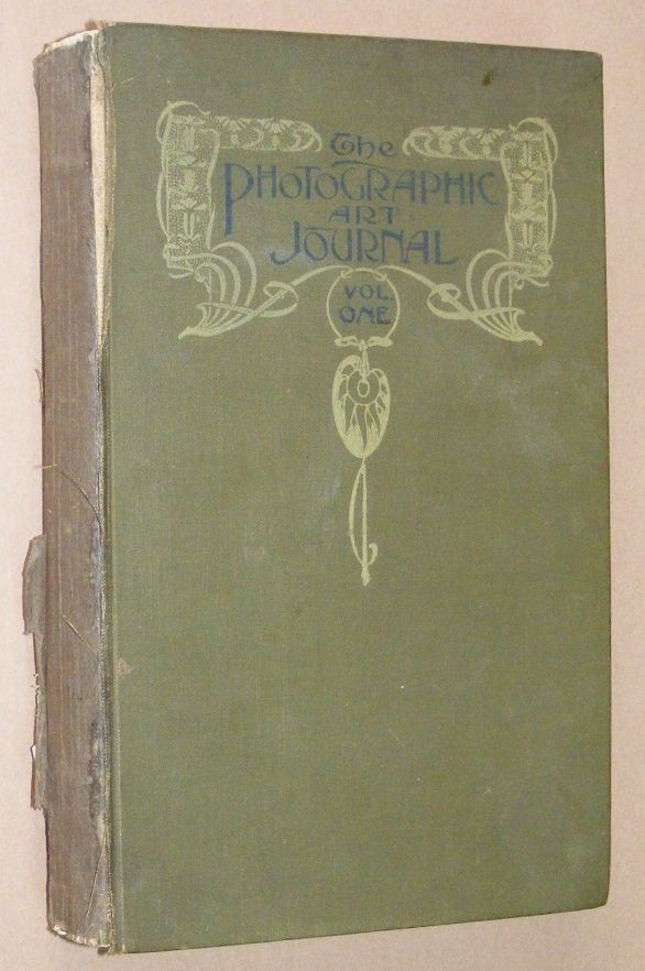Image for The Photographic Art Jouernal Vol.I March 1901 to February 1902