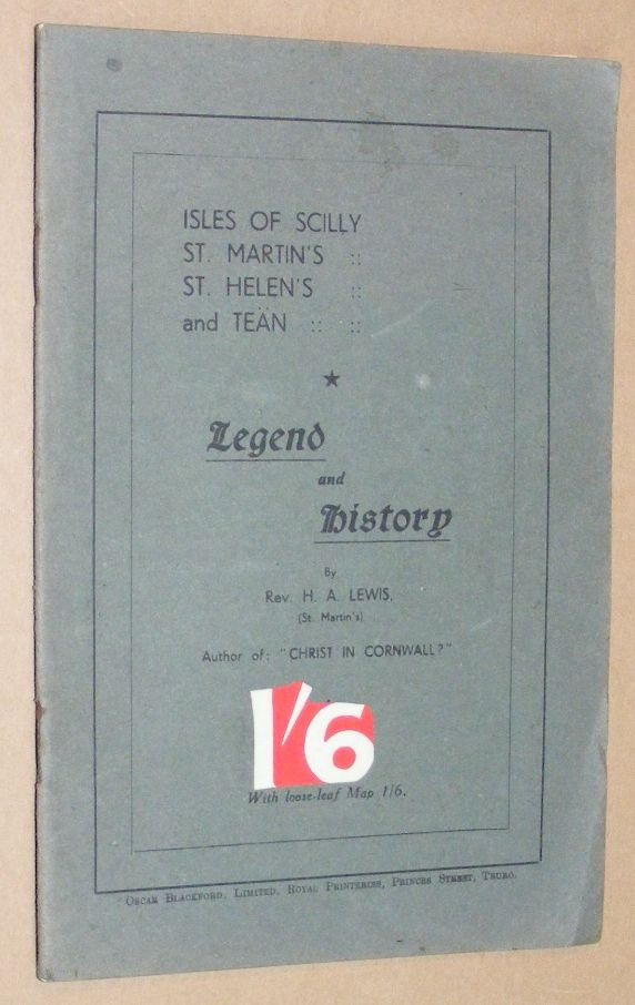 Image for Isles of Scilly: St Martin's, St Helen's, and Tean: Legend and History